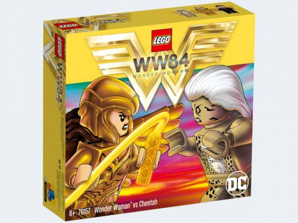 LEGO DC Universe Super Heroes 76157 - Wonder Woman vs Cheetah