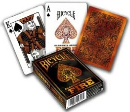 Bicycle Playing Cards - Elements Series: Fire