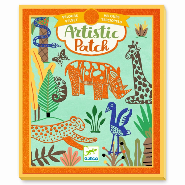 Artistic Patch - Wilde Tiere