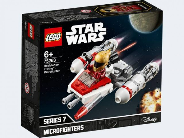 LEGO Star Wars 75263 - Widerstands Y-Wing™ Microfighter