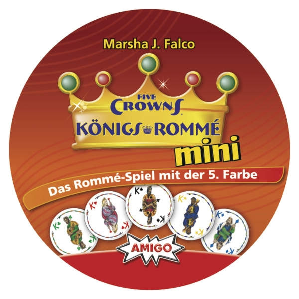 Five Crowns Königs-Romme Mini