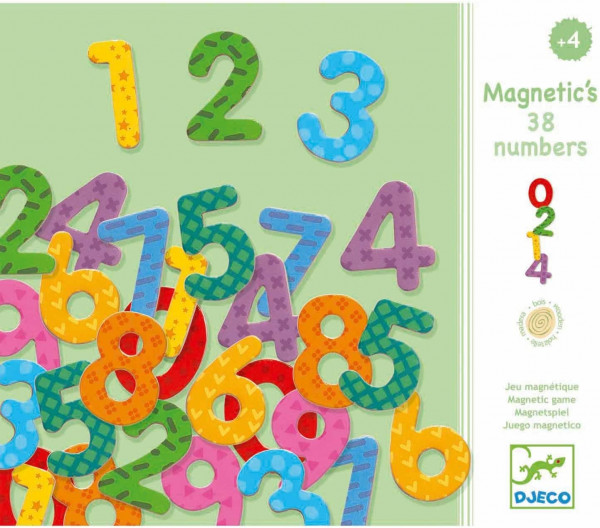 Magnetspiel - Magnetic's 38 numbers