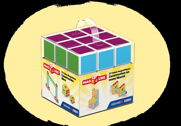 Magicube - 27 Magnetic Cubes Free Building