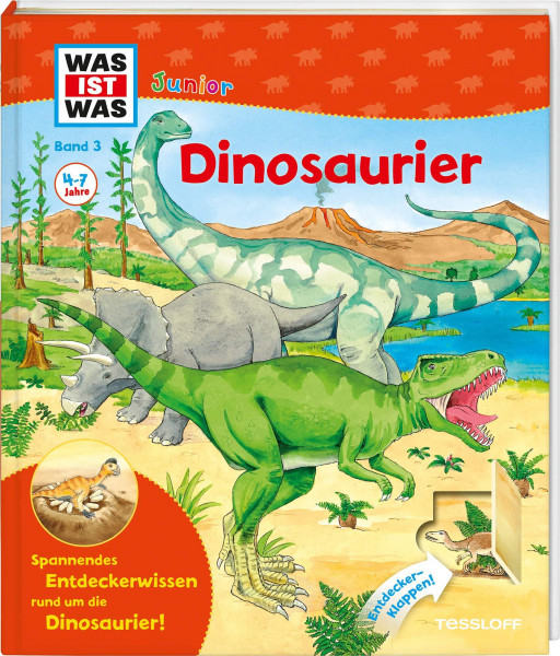 Was ist was: Band 3 Dinosaurier