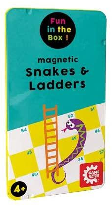 Magnetic Travel Games: Snakes & Ladders