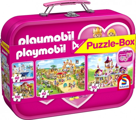 Puzzle-Box: Playmobil pink